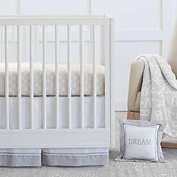 Just Born® Dream 3-Piece Crib Bedding Set in Taupe/Grey
