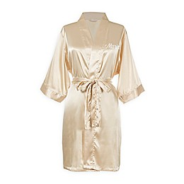 Cathy's Concepts Luxury Satin Robe