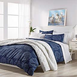 Microsculpt Medallion Reversible Comforter Set