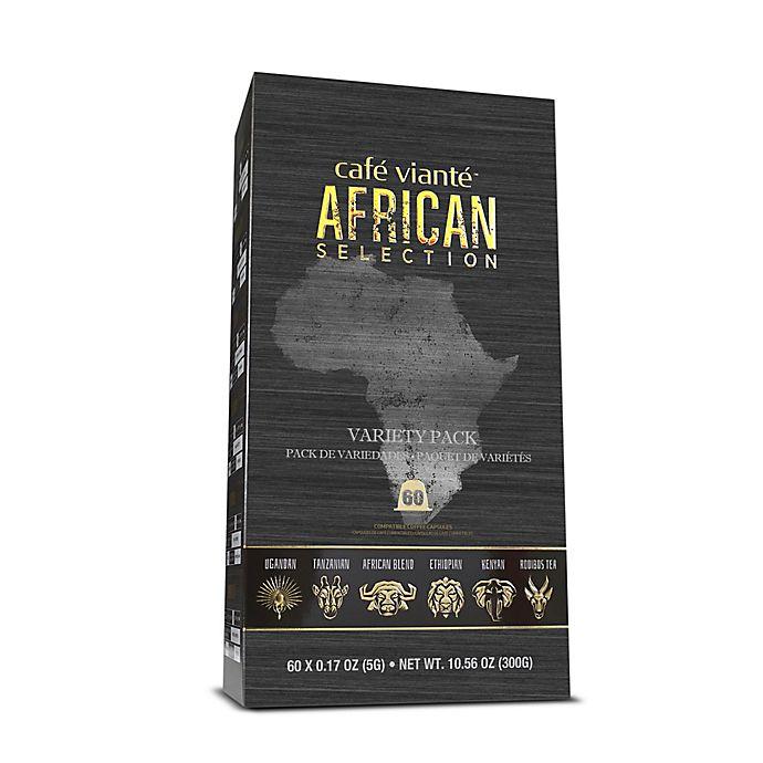 Alternate image 1 for Café Vianté® 60-Count African Espresso Capsules Variety Pack