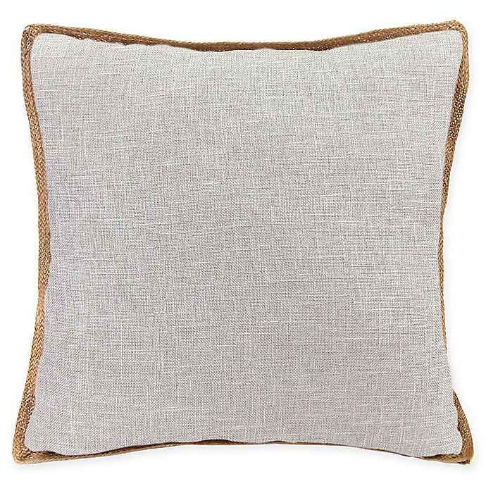 Alternate image 1 for Bahama Decorative Pillow in Light Grey