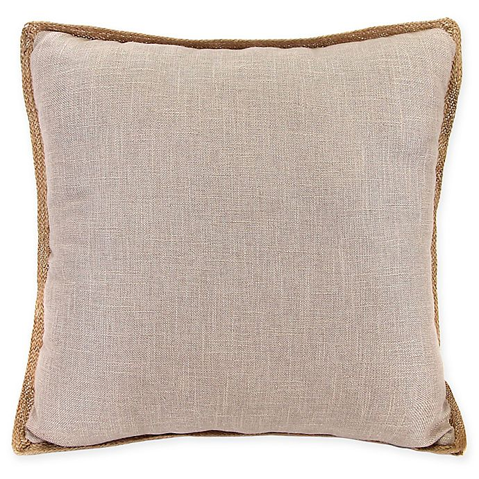 Alternate image 1 for Bahama Decorative Pillow in Taupe