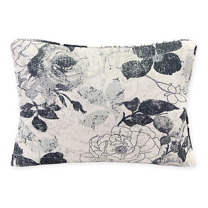 Alternate image 1 for Mademoiselle 15-Inch x 20-Inch Oblong Throw Pillow in Icicle