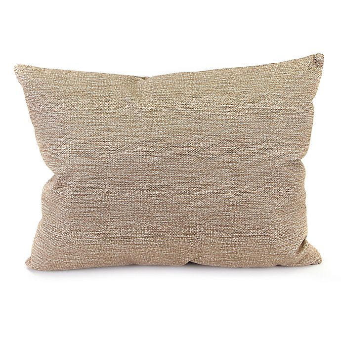 Alternate image 1 for Phoenix 15 x 20 Oblong Throw Pillow in Sand