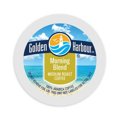 80-Count Golden Harbour Morning Blend Coffee K-cups for Single Serve Coffee Makers