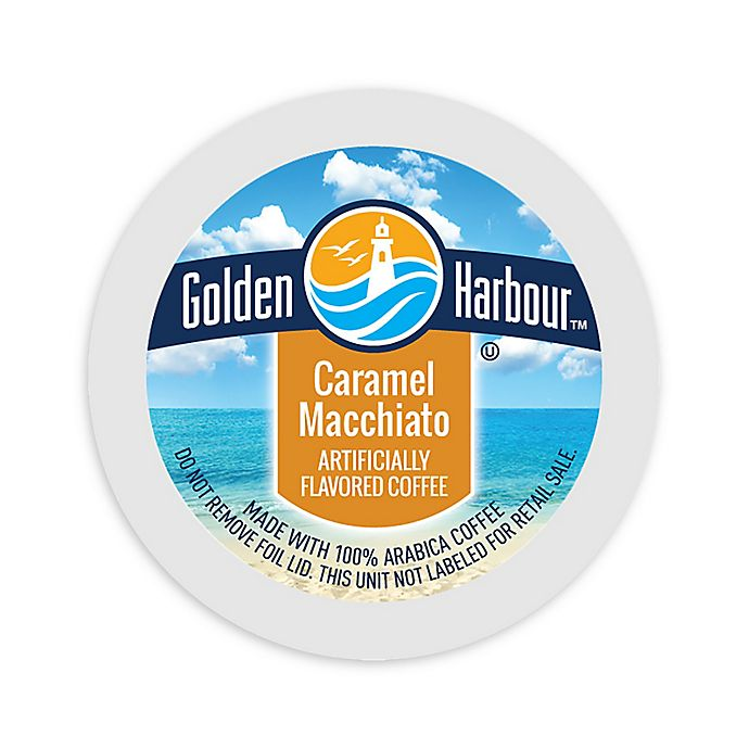 Alternate image 1 for 80-Count Golden Harbour™ Caramel Macchiato for Single Serve Coffee Makers