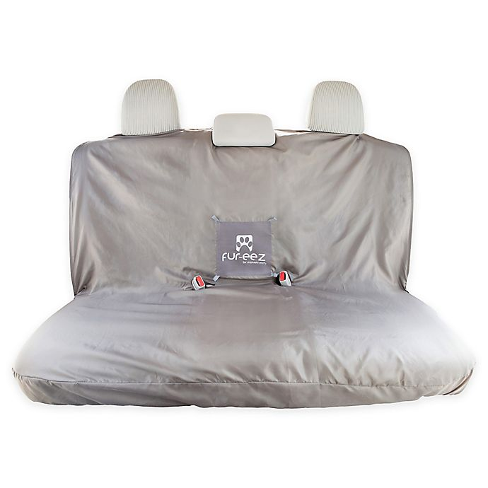 Alternate image 1 for FUR-EEZ Portable Car Seat Cover in Grey