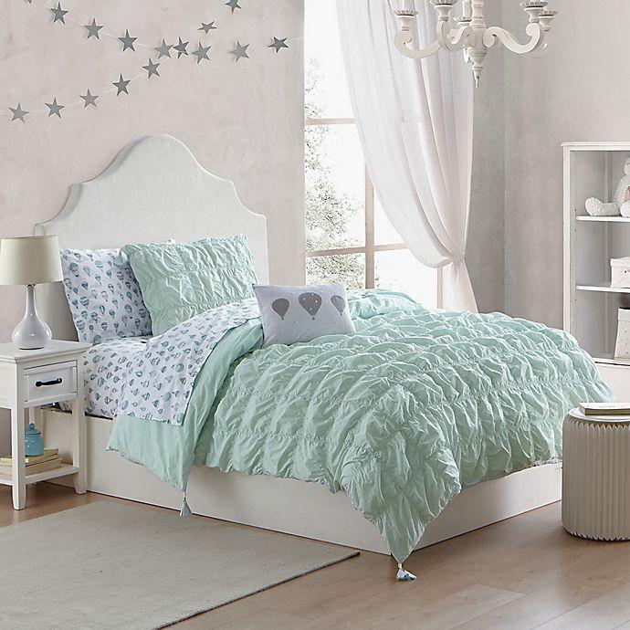 Alternate image 1 for Tegan 2-Piece Twin Comforter Set in Mint