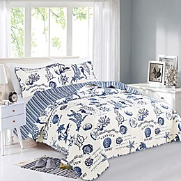 Great Bay Home Catalina Reversible Quilt Set