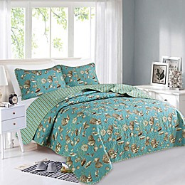 Great Bay Home Seychelles Reversible Quilt Set