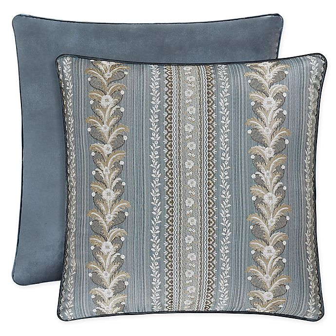 Alternate image 1 for J. Queen New York™ Crystal Palace European Pillow Sham in French Blue