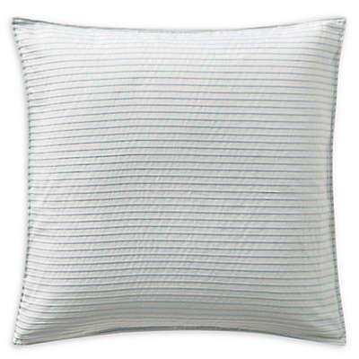 Highline Bedding Co. Belize European Pillow Sham in Blue Haze
