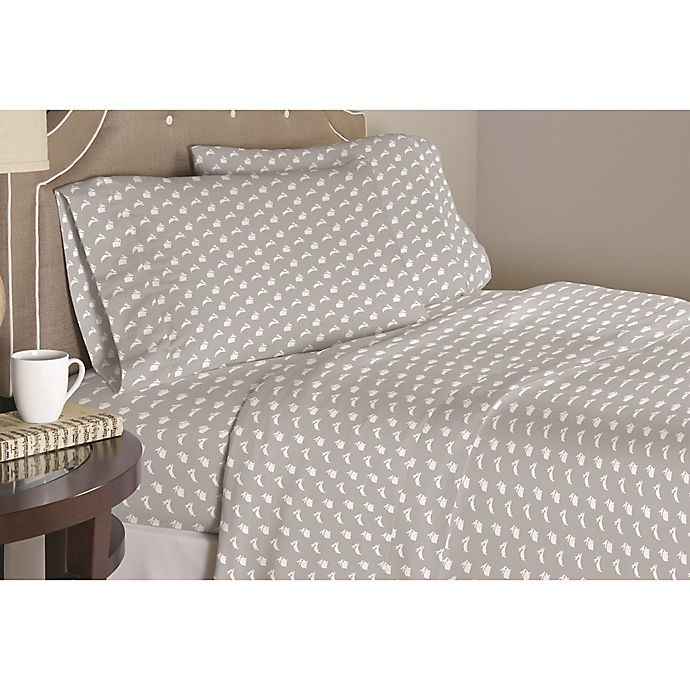 Pointehaven Bunnies Duvet Cover Set Bed Bath And Beyond Canada
