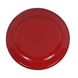 Certified International Orbit Dinner Plate (Set of 6) in Red