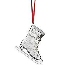 Reed & Barton Figural Ice Skate Christmas Ornament