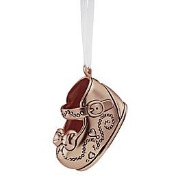 Reed & Barton Girl's Baby Shoe Christmas Ornament
