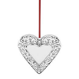 Reed & Barton Annual Heart Christmas Ornament