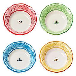 Euro Ceramica An American in Paris Soup Bowl (Set of 4)