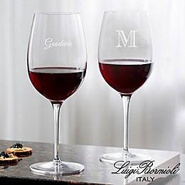 Luigi Bormioli Crescendo SON.hyx® Personalized Bordeaux Wine Glass
