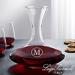 Luigi Bormioli Crescendo Personalized 68 oz. Captain's Wine Decanter
