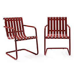Crosley Gracie Indoor/Outdoor Chairs (Set of 2)