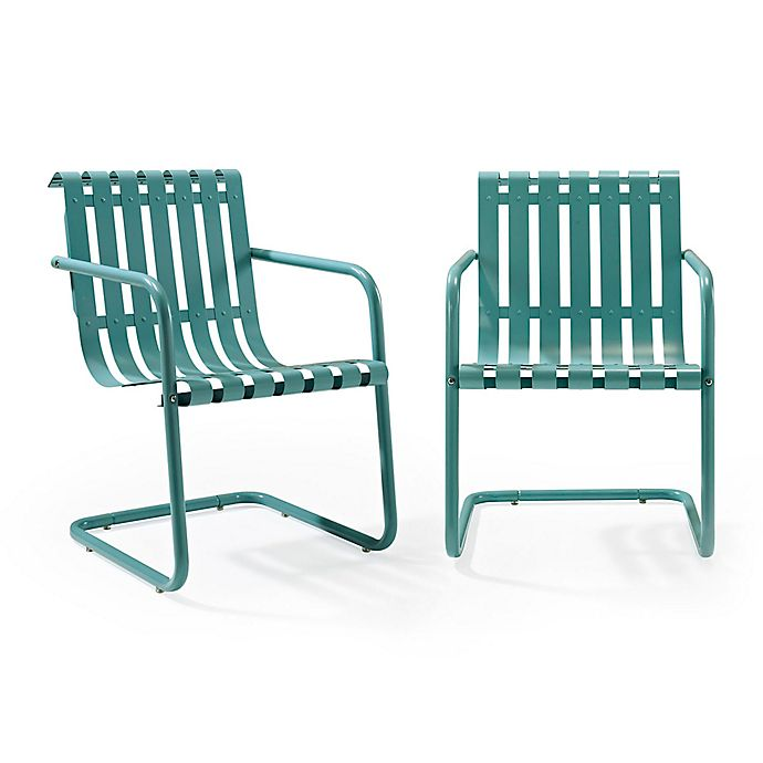Astounding Crosley Gracie Indoor Outdoor Chairs Set Of 2 Bed Bath Ibusinesslaw Wood Chair Design Ideas Ibusinesslaworg