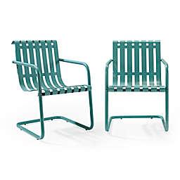 Crosley Gracie Indoor/Outdoor Chairs (Set of 2)