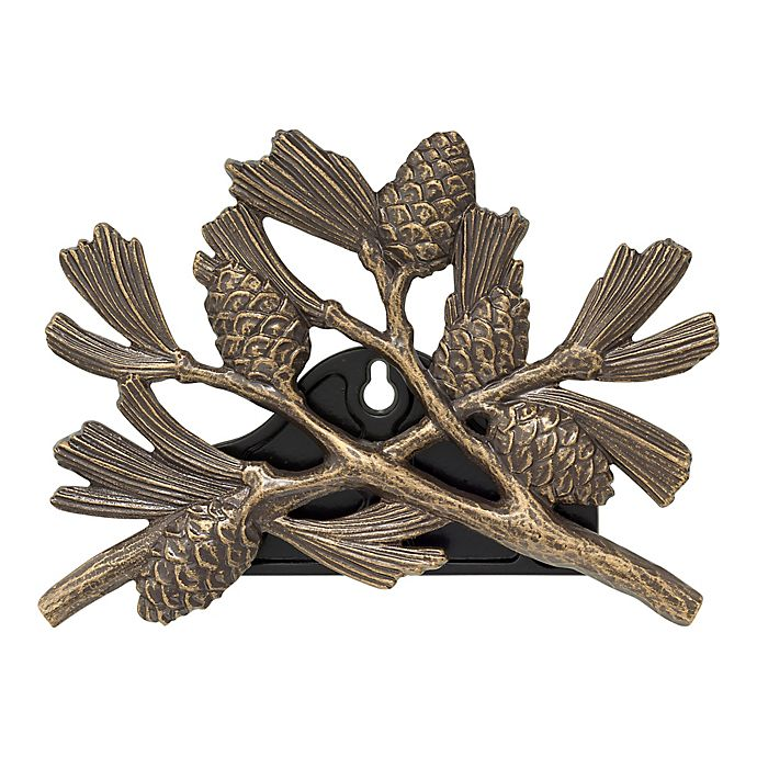 Alternate image 1 for Whitehall Products Pinecone Outdoor Hose Holder in French Bronze