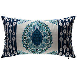 Bombay® Tivoli Damask Outdoor Lumbar Pillow in Cream
