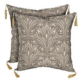 Bombay® Zanzibar Outdoor Square Throw Pillows (Set of 2)