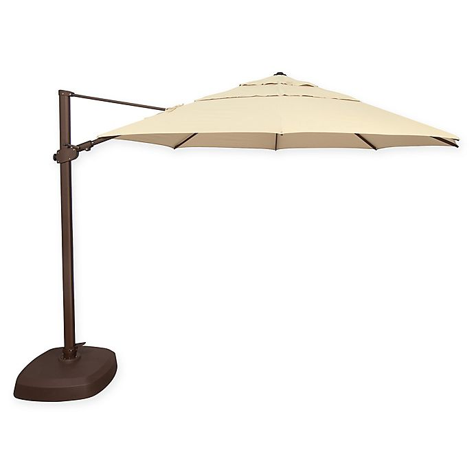 Alternate image 1 for SimplyShade® Fiji 11.5-Foot Octagon Cantilever Umbrella