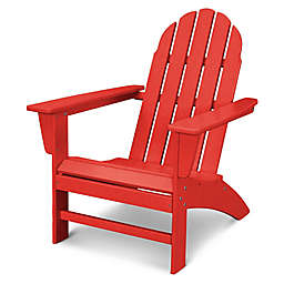 POLYWOOD® Vineyard Adirondack Chair in Sunset Red