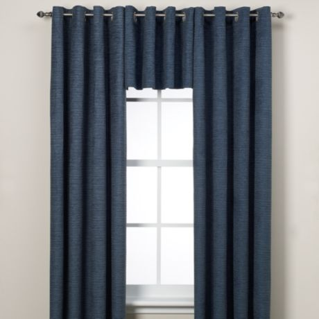 Buy Union Square Valance In Indigo From Bed Bath Amp Beyond