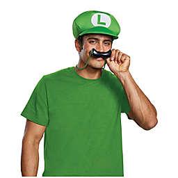 Disguise Super Mario Bros.: Luigi 2-Piece Costume Accessory Set in Green