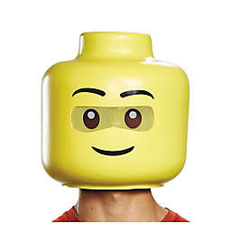 Disguise Lego Iconic Guy Adult Full Head Mask in Yellow