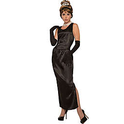 Breakfast at Tiffany's 5-Piece Multicolor Gown and Gloves Costume