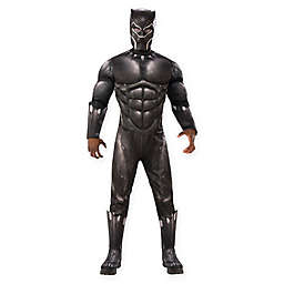 Marvel Black Panther Movie 3-Piece Deluxe Black Panther Costume in Black