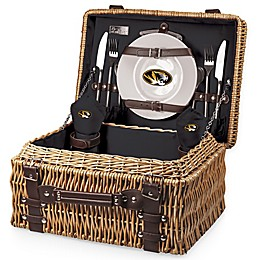 University of Missouri Champion Picnic Basket with Service for 2 in Black