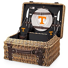 University of Tennessee Champion Picnic Basket with Service for 2 in Black