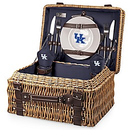 University of Kentucky Champion Picnic Basket with Service for 2 in Navy