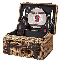 Stanford University Champion Picnic Basket with Service for 2
