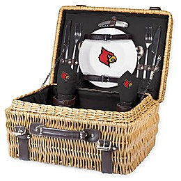 University of Louisville Champion Picnic Basket with Service for 2