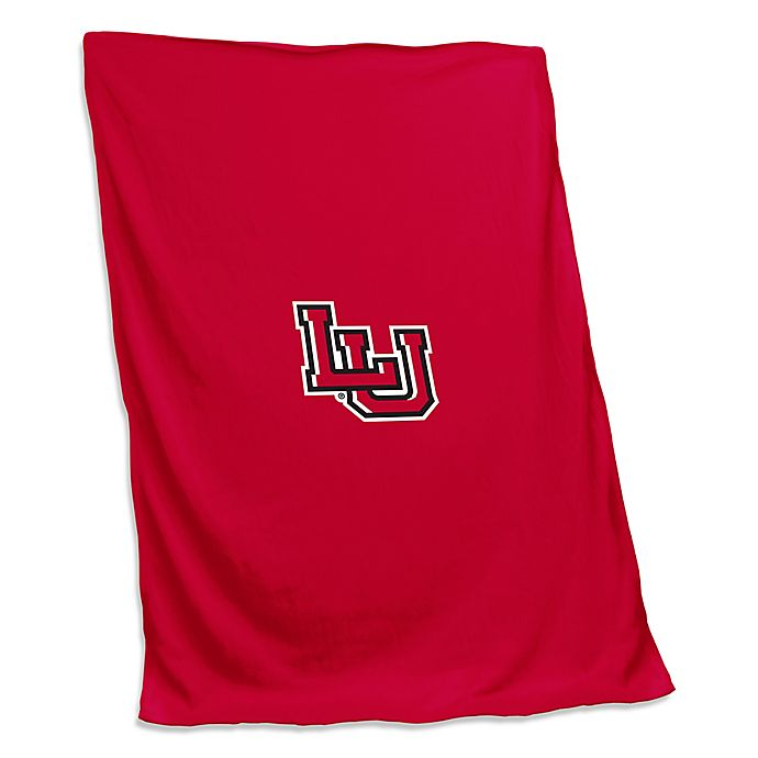 Alternate image 1 for Lamar University 54-Inch x 84-Inch Sweatshirt Throw Blanket