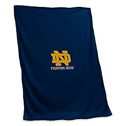 University of Notre Dame Sweatshirt Throw Blanket