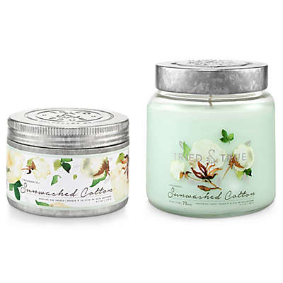 Tried & True™ Sunwashed Cotton Jar and Tin Candle Collection
