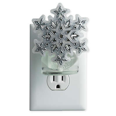 Yankee Candle® ScentPlug™ Frosty Snowflake Deluxe Base in Silver