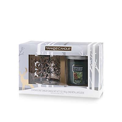 Yankee Candle® Housewarmer® Balsam & Cedar Small Tumbler Candle Gift Set