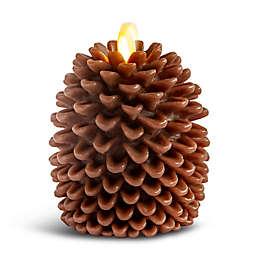 Luminara® 5-Inch Real-Flame Pine Cone Candle