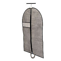 Simplify 24-Inch x 40-Inch Suit Garment Bag in Black