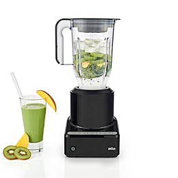Braun PureMix 56 oz. Power Blender with Plastic Jug in Black